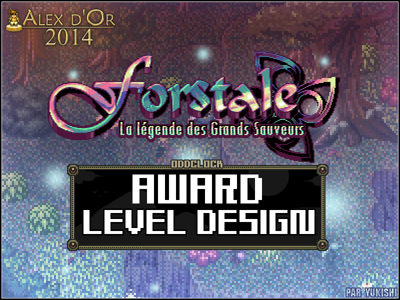 Award de Level design (2014)