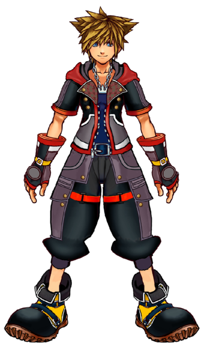 Sora Artwork de Eri costume de KH3